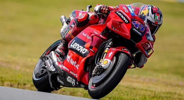 2021 Motogp French Gp Jack Miller Race Action Ducati Photo