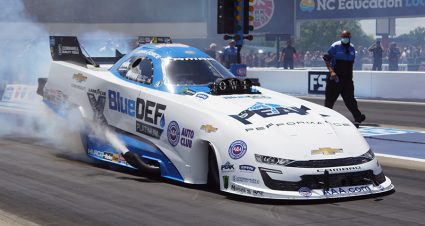 Force Is The Class Of zMAX Four-Wide Funny Car Field