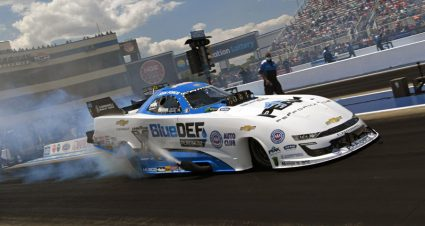 Force Family Controls Four-Wide Nationals Qualifying