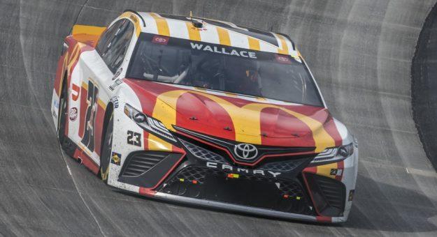 #23: Bubba Wallace, 23XI Racing, Toyota Camry McDonald's