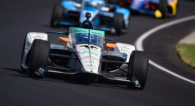 Fernando Alonso at Indianapolis Motor Speedway in 2020. (IndyCar Photo)