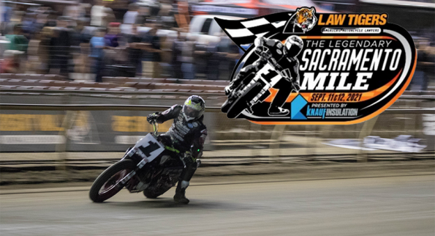 Progressive American Flat Track competition is returning to the Cal Expo Fairgrounds.