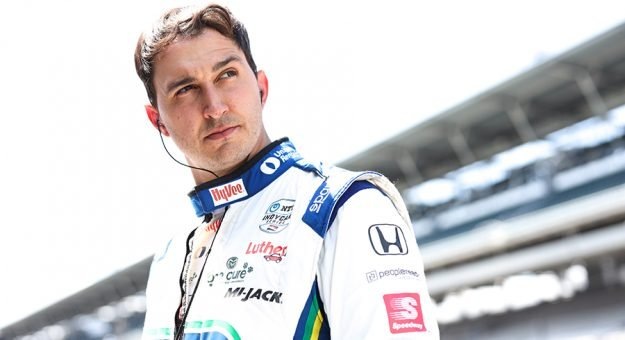 Graham Rahal was fastest in the veterans practice session that kicked off practice for the Indianapolis 500 on Tuesday. (IndyCar Photo)