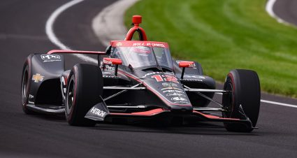 Power Leads The Way On Opening Day At Indy