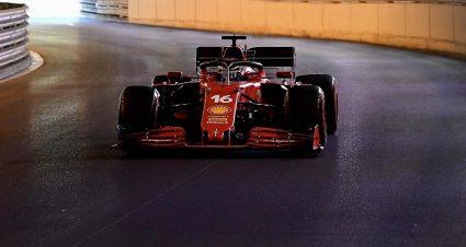 Ferrari Surprises As Monaco Practice Begins