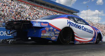 HendrickCars.com On Board With Anderson For Full NHRA Season