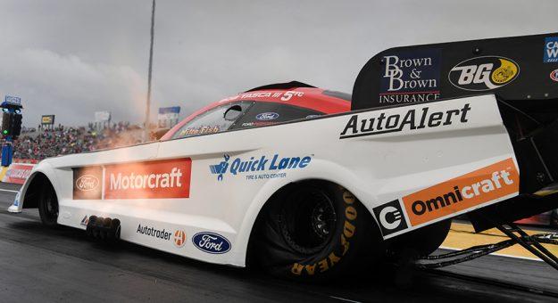 Bob Tasca III was fastest in NHRA Funny Car qualifying Saturday at Houston Raceway Park. (NHRA Photo)