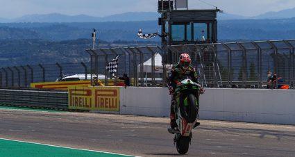 Rea Reaches World Superbike Century Mark