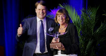 Lyn St. James Honored With Spirit Of Ford Award