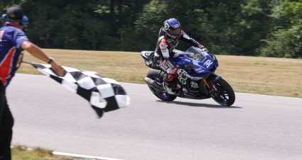 A MotoAmerica Superbike Hat Trick For Gagne