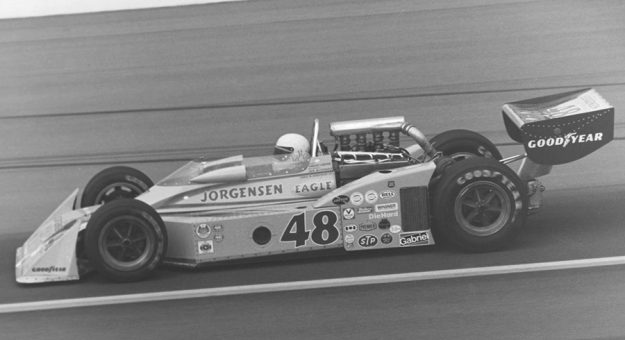 Pancho Carter made 17 Indianapolis 500 starts during his lengthy career, never finishing better than third.
