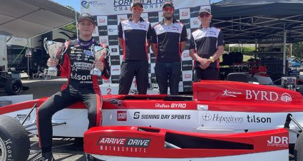 BYRD: A Double Podium Weekend In Alabama