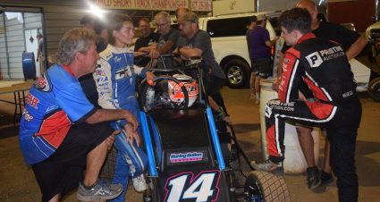 CB Industries Guiding Young Talent In Midget Racing