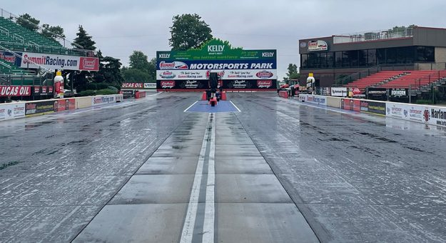 Friday's qualifying sessions for the PDRA DeCerbo Construction American Doorslammer Challenge have been canceled.