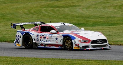 Francis Claims Soggy Lime Rock Trans-Am Pole