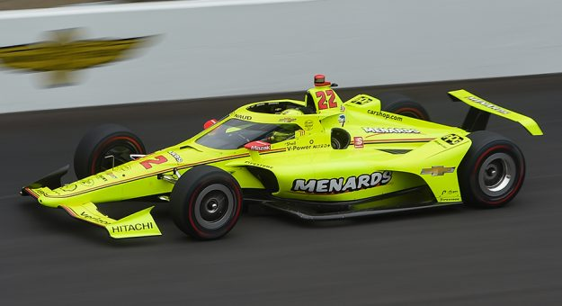 Simon Pagenaud made a valiant effort to win the Indianapolis 500, but he came up two positions short. (IndyCar Photo)