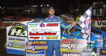 Sheppard Claims Mr. Dirt Track USA Crown