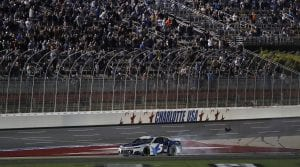 #5: Kyle Larson, Hendrick Motorsports, Chevrolet Camaro MetroTech celebrates after winning the NASCAR Cup Series Coca-Cola 600 at Charlotte Motor Speedway in Concord, N.C., May 30, 2021.  (HHP/Andrew Coppley)