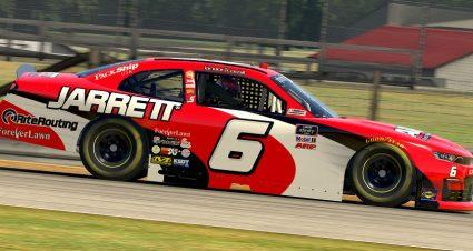 Jarrett Backs Cassill & JD Motorsports At Mid-Ohio
