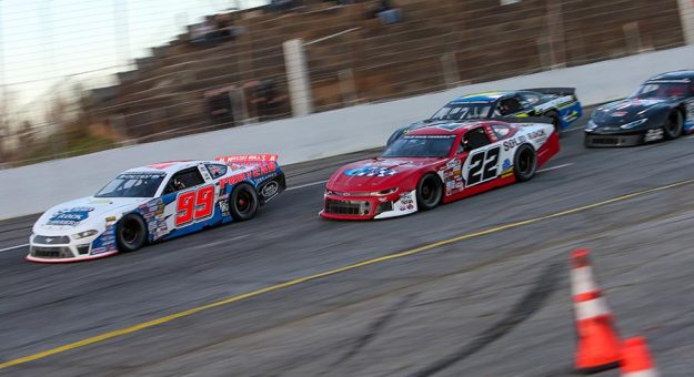 The CARS Late Model Stock Tour is back in action this weekend at Virginia's Langley Speedway. (Adam Fenwick Photo)