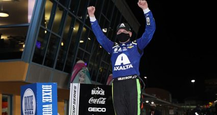 Byron Joins Rackley W.A.R. For Nashville Truck Race