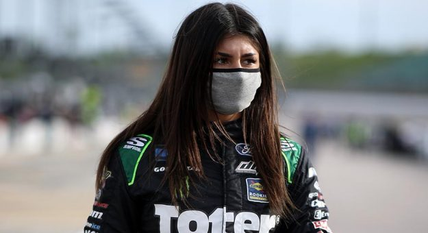 Hailie Deegan will compete in two Camping World SRX Series races this year in place of Tony Kanaan. (Sean Gardner/Getty Images Photo)