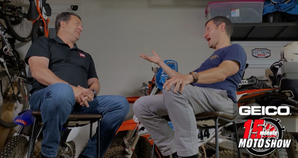 Jason Weigandt On The GEICO 15 Minute Moto Podcast