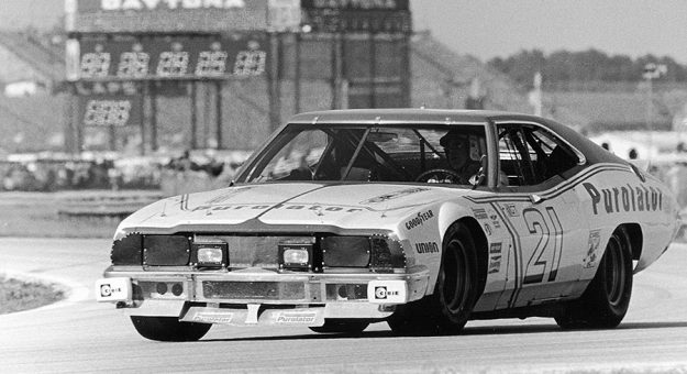 David Pearson during the 1976 Rolex 24 at Daytona Int'l Speedway.