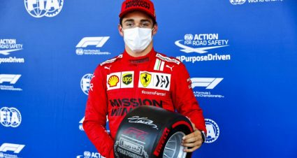 Leclerc Claims Pole During Chaotic Baku Qualifying