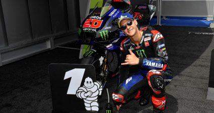 Another MotoGP Pole For Fabio Quartararo