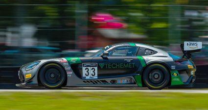 Ward & Grenier Put Mercedes In VIR Victory Lane