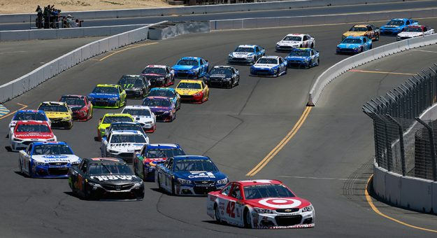 Save Mart has extended its sponsorship of the NASCAR Cup Series race at Sonoma Raceway. (Matt Sullivan/Getty Images Photo)