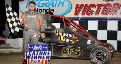Neuman Hits The Cushion In Badger Score