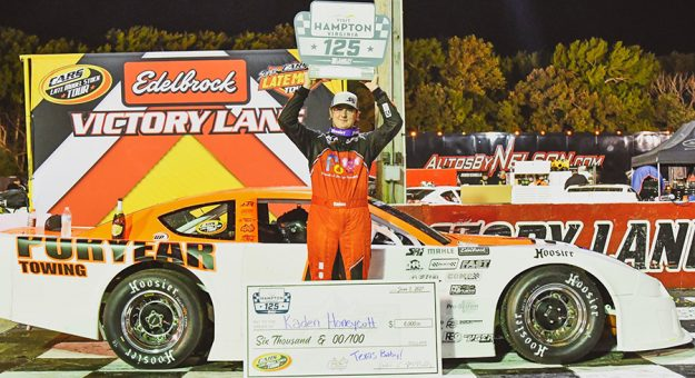 Kaden Honeycutt won his first CARS Late Model Stock Tour feature Saturday at Langley Speedway.