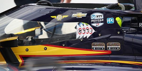 Racing Optics has become an official IndyCar partner. (IndyCar Photo)