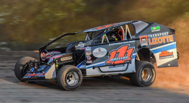 Demetrios Drellos is hoping to get his Super DIRTcar Series season back on track at Albany-Saratoga Speedway.