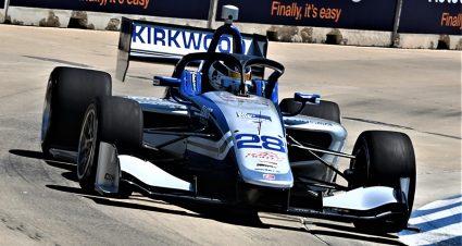 Kirkwood Secures Detroit Indy Lights Pole