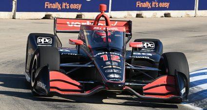 Power & Bourdais Lead The Way In Detroit Practice