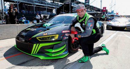Audi & Corvette Claim Detroit GT Poles