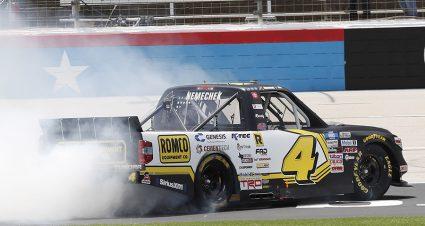 Nemechek Outruns Elliott In Texas Truck Show