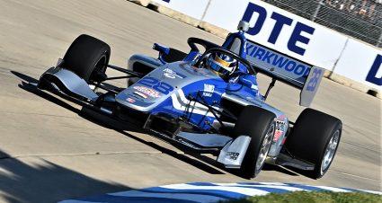 Kirkwood Controls Detroit Indy Lights Field