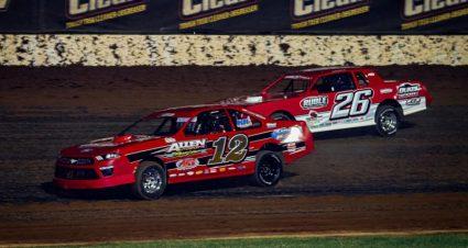 Scotty Allen Wires Wheatland Stock Car Foes