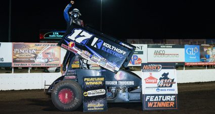 Another Huset's Victory For Austin McCarl