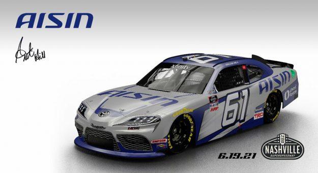 Hattori Racing Enterprises will compete in six NASCAR Xfinity Series races this season.