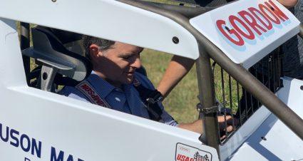 Jeff Gordon Gets Back Behind The Wheel Of A Midget