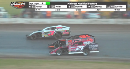 Three-Way Brawl For Ogilvie Midwest Modified Victory