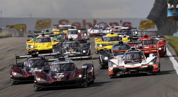 Scott Atherton will give the command to start engines for the upcoming Sahlen's Six Hours of the Glen. (IMSA Photo)