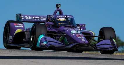 Grosjean Paces Friday IndyCar Action In Wisconsin