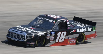 Chandler Smith Is Fast Early In Nashville Truck Practice