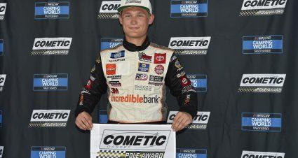Kraus Speeds To First Truck Pole In Nashville Qualifying